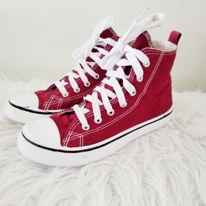 Rue 21 high top sneakers lace up athletic shoes
